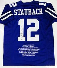 4ecb624d Roger Staubach Dallas Cowboys NFL Original Autographed Jerseys for ...