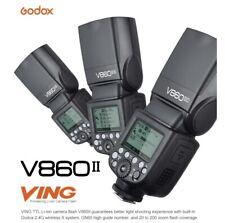 NEW Godox V860II-N GN60 TTL HSS 1/8000 2.4G Li-ion Battery Speedlite Flash Nikon