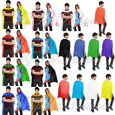 Children's/ Men's, Women Super Hero Cape Plain Comic Book Avenger Stag Hen Party