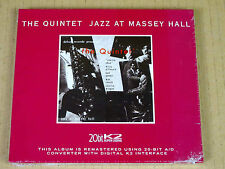 CD The Quintet Jazz at the Massey Hall - 20bit K2 Debut rec 10 000 ex. New