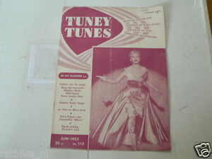 1953 NO 113 TUNEY TUNES MUSIC PEGGY LEE COVER,DON CORNELL,SINATRA,MODERNAIRES