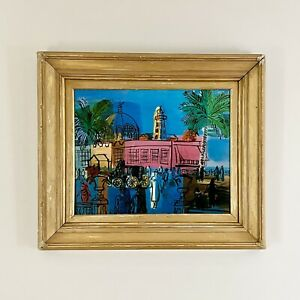 Raoul Dufy (French,1877-1953), 'The Promenade and Pier in Nice', Signed in Plate