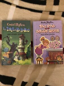 The Pig with Green / The Tower by Enid Blyton 2 Books (Hardback) , FREE 📮 POST