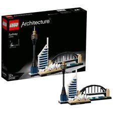 Lego 21032 Sydney Opera House Torre Puente Harbour horizonte edificio Conjunto Completo