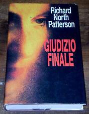 GIUDIZIO FINALE North Patterson Legal Thriller Giallo 1°ediz. EUROCLUB 1997