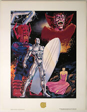 SILVER SURFER Guardian of the Spaceways Ltd Ed Lithograph #2177/2500 SIGNED LIM