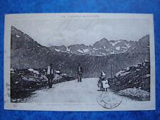 L' HOSPITALET  :  Vue prise du Col de Puymaurens.