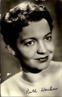 Progress Starfoto DDR ~1955/60 Schauspielerin Actor Film Kino RUTH WACKER Foto
