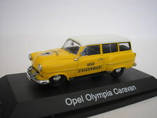 OPEL OLYMPIA CARAVAN ADAC ROAD SERVICE 1/43 SCHUCO NEW