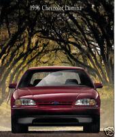 1996 Chevrolet Lumina 22-page Original Sales Brochure Catalog - Chevy