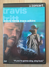TRAVIS TRITT & TRACE ADKINS - IN CONCERT - DVD (EX. cond.)