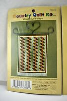 """Country Mini Quilt Counted Cross Stitch Kits - Choose Your Favorite 4.6"""" x 6.1"""""""