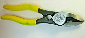"""Klein VDV600-096 7-3/4"""" Long  COAXIAL Cable Cutter Pliers USA"""