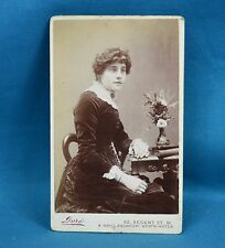 Victorian CDV Photo Carte De Visite Seated Young Lady By  Dore London