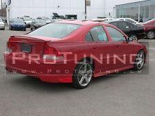 For Volvo S60 00-10 Saloon Rear Boot Trunk Spoiler R lip Wing Sport Trim