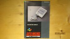 SNES Super Nintendo Console Instruction Manual Booklet ONLY