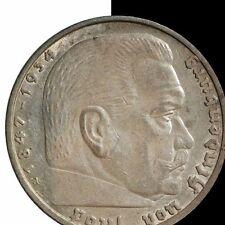 1938 A Germany 5 Mark Coin
