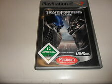 PlayStation 2  Transformers: The Game (4)