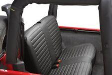 Sitzbezug B unterfüttert schwarz für Jeep Wrangler 2 TJ Soft-top Cabriolet 2-tür