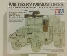 Tamiya 1/35 scale model kit  35231, 2 1/2 ton Cargo truck accessories set.