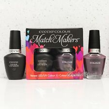 CUCCIO Veneer Match Makers - BELIZE IN ME 6058 Gel Polish & Nail Lacquer Duo Kit