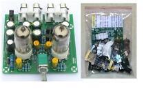 Preamplificatore a valvole con 2 tubi 6J1, HiFi stereo in KIT