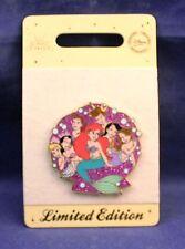 Disney Store UK Europe The Little Mermaid Ariel & Sisters LE 500 Pin