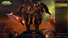 EU WoW ACC x2 110 lvl (Horde and Alliance) + 460,000 gold / Paid