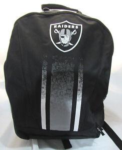 NFL Las Vegas Raiders 2016 Stripe Primetime Adult Backpack by FOCO