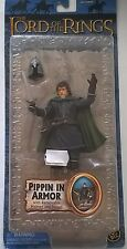 TOY BIZ LORD OF THE RINGS THE RETURN OF THE KING PIPPIN IN ARMOR   ART 81320