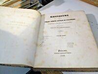 DECISIONI DELLA GRAN CORTE CIVILE DI PALERMO - PALERMO 1838