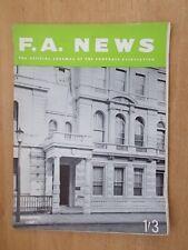 F.A. NEWS JOURNAL OF THE FOOTBALL ASSOCIATION DECEMBER 1967 LANCASTER GATE