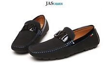 Mens Slip On Loafers Boat Deck Shoes Smart Casual Dress Driving Fashion Style UK