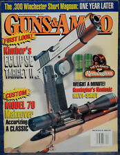 Magazine GUNS & AMMO April 2002 SAVAGE Navy Model .36 REVOLVER , SAVAGE 10MLSS11