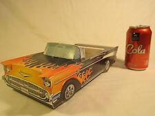 "1993 KID STUFF 12"" Paper Car 1957 CHEVY HOT ROD  (P7]"