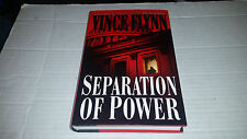 Separation of Power by Vince Flynn (2001, Hardcover) SIGNED 1st/1st