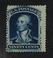 CKStamps: US Stamps Collection Scott#39 90c Mint H OG Appear Tiny Thin CV$3000