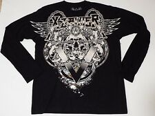 Xzavier AXR  Long Sleeve Graphic Embellished T-Shirt Size Large