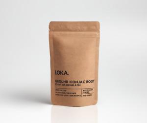 Pure Glucomannan Powder (Konjac Root) 100g