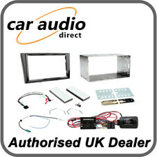 Connects2 CTKVX11 Vauxhall Corsa 2009> 2014 Piano Black Double DIN Radio Kit