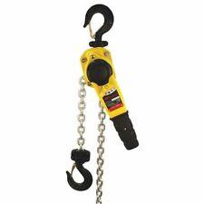 Ingersoll Rand Kl150v 10 Lever Chain Hoist 2000 Lb Load Capacity 10 Ft