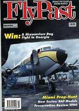 Flypast Magazine 1991 March Propliner,O-2A,Blackburn Beverley