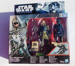 Figurine Star Wars  ROGUE ONE.  REBEL COMMANDO PAO  Hasbro 2016.  sous blister