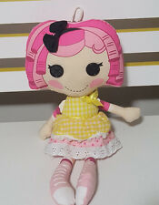 LALALOOPSY CRUMBS SUGAR COOKIE PLUSH TOY! KIDS TOY ABOUT 21CM SEATED SOFT TOY!