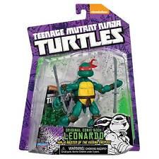 Playmates TMNT Teenage Mutant Ninja Turtles Leonardo With Comic MOC 2014