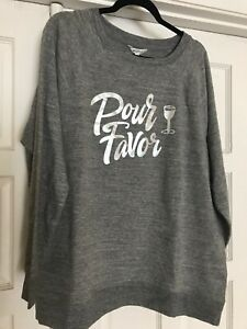 "Wildfox Sweatshirt Pullover "" Pour Favor """