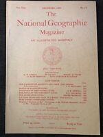 (REPRINT!) National Geographic Magazine December 1897 Vol. VIII No.12, Fever