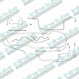2000-2005 Chevrolet/GMC S10/Sonoma 4WD Ext Cab Shortbed Brake Line Set Stainless