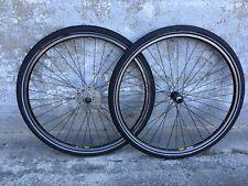 """VeloDeVile Mavic Laufräder 28"""" Rennrad Trekking LRS Training Schwalbe"""