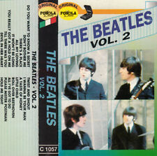 "K 7 AUDIO (TAPE)  THE BEATLES  ""THE BEATLES VOL 2"" (MADE IN ITALY)"